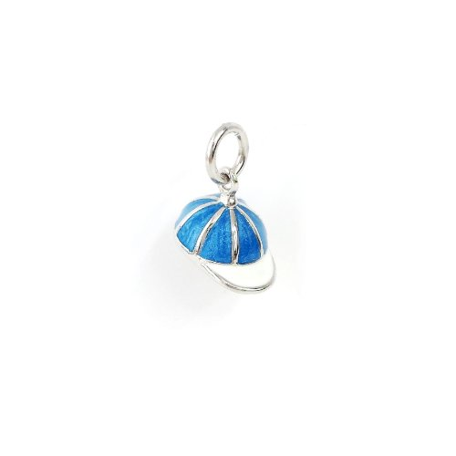 925-sterling-silver-jewelry-oceanic-blue-and-white-strip-epoxy-cap-charm-pendant-16-necklace