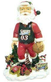 Philadelphia 76ers Santa Claus Forever Collectibles Bobble Head