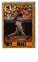 - Barry Bonds Rookie 1987 Topps No.320 Baseball Card