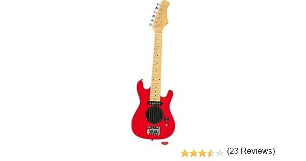Small Foot Company 3302 - Guitarra eléctrica, color rojo ...