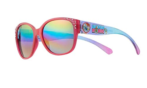 Girls 4-6x My Little Pony Rainbow Dash Rectangle Sunglasses with Rhinestone Detail Girls (Rainbow Dash Glasses)
