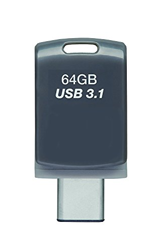 64GB DUO-LINK Type-C & Type-A Dual OTG USB 3.1 Flash Drive (2 pack) by Bujj-ond