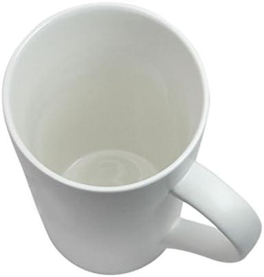 Tall Porcelain Mug by Herrids