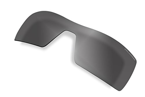 Polarized Sunglass Lenses Replacement for Oakley Oil Rig Sunglasses (Black - Oilrig Oakleys