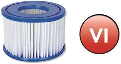 NEU Filterkartusche 12er PACK VI für Miami Vegas Monaco Lay-Z-Spa 58323
