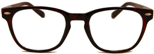 Retro Wayfarer Bifocal Reading Glasses Give a Classic Look for Both Men and Women
