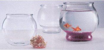 Round Glass Fish Bowl, My Pet Supplies
