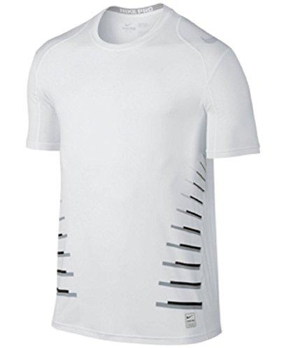 Nike Pro Cool Speed Vent Men's White T Shirt Size M