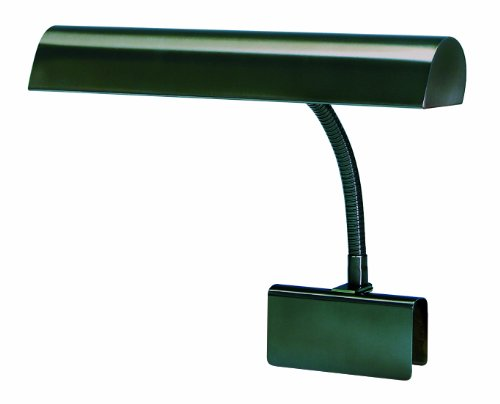 House Of Troy GP14-81 Grand Piano 14-Inch Portable Lamp, Mahogany - 14' Piano Desk Lamp