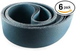 6 Pack 2 X 72 Inch 80 Grit Metal Grinding Zirconia Sanding Belts