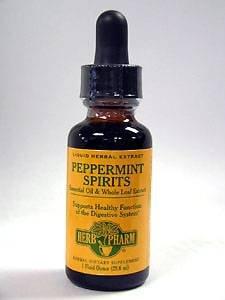 Herb Pharm - menthe poivrée Spiritueux Huile Essentielle 1 oz