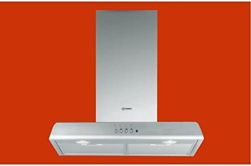 Indesit HIP 6 P (IX) 550 m³/h Encastrada Acero inoxidable - Campana (550 m³/h, Canalizado, 65 dB, 53 dB, 64 dB, Encastrada): Amazon.es: Hogar