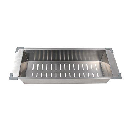 "BOANN BNKC21 Kitchen Sink Colander Fit with 18"" Opening, ..."
