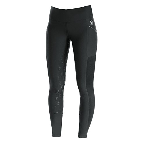 Horze Leah Women's UV Pro Summer Riding Tights (Black