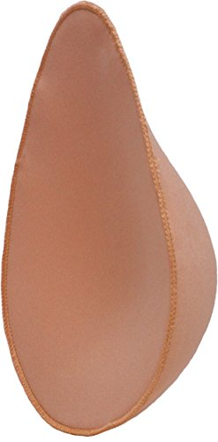 Bravo Post Mastectomy Breast Form pad: Lightweight, Soft & Natural Looking ... (Nude, Large) ()