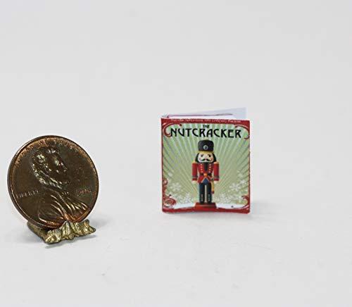 Miniature 1:12 Scale Christmas Holiday Nutcracker Book