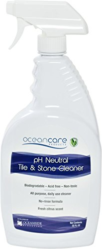 Oceacnare Products pH Neutral Tile & Stone Cleaner - Quart Trigger Spray Ready To Use (Quart Use Spray)