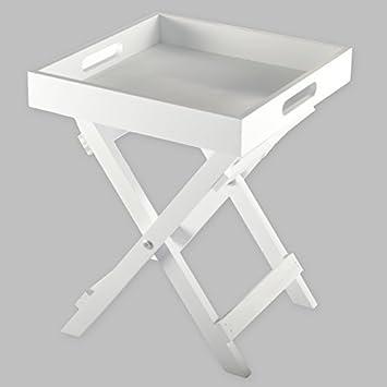 Butlers Tray Mini Tablett Klapp Tisch Klapptisch Holz Serviertisch ...