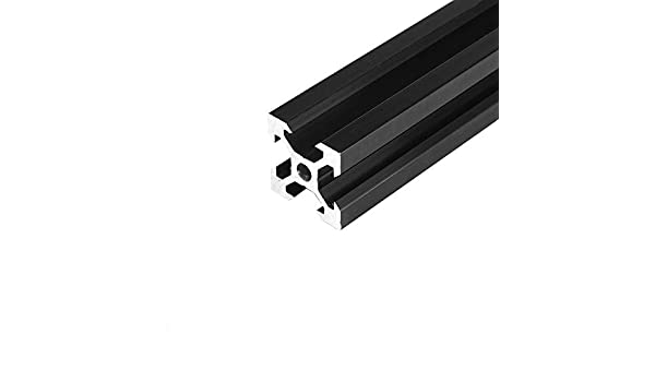 belupai 100-1200mm Silver 2040 Extrusiones de aluminio con ranura en V 20x40mm Marco de extrusi/ón de perfil de aluminio para m/áquina de grabado l/áser CNC
