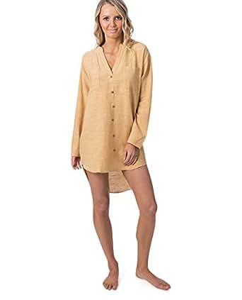 Rip Curl Women's GOA Beach Dress, Mustard, XS