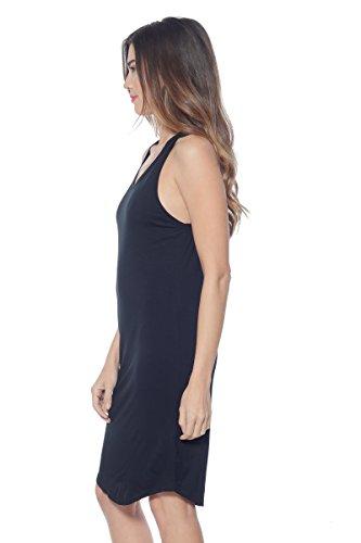 Fit Black Dress Dress Casual Tank Sexy Alexander Summer David Midi Relax Jersey Womens Jersey BnqBvwRO