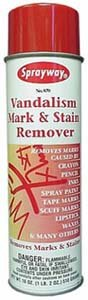 Vandalism Mark Remover -  Sprayway, 870
