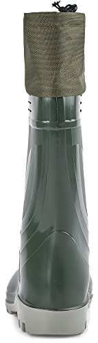 Ladeheid Uomo PVC Oliva KL009 per Gomma di Stivali XwX0qdOr