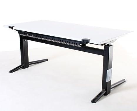Oka bureau hauteur réglable électrique b 160 x h 70 118 x p 80 cm