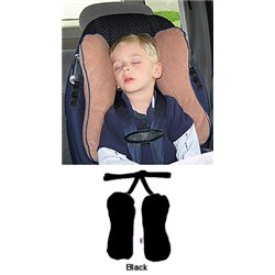 ToddlerCoddler Toddler Head Support System in Black