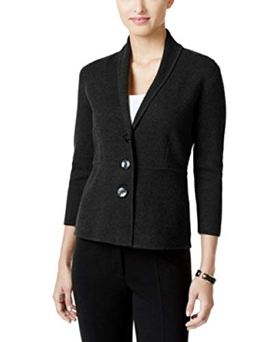 Collar Blazer (Deep Black, PS) ()