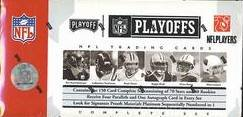 2006 Playoff NFL Playoffs ( Formerly Prime Signatures ) Football Factory Sealed Hobby Box - Complete 150 Card Set ( W/ Reggie Bush Matt Leinart ) & 1 Autograph & 4 Parallel Cards Per Box - 80 Rookie Cards from Donruss