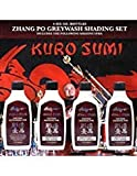 Kuro Sumi Zhang Po Greywash Shading Tattoo Ink Set