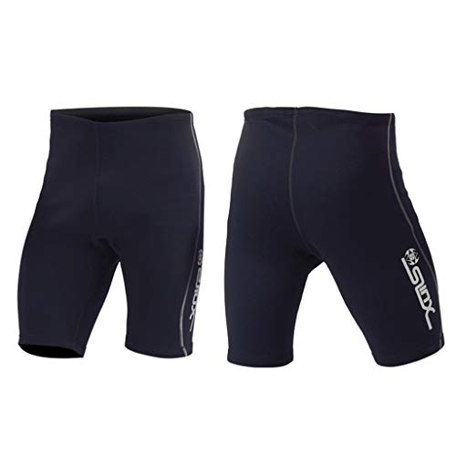 Allywit Men's 2mm Black Neoprene Wetsuit Shorts Surf Surfing Diving Suit Pant by Allywit (Image #3)
