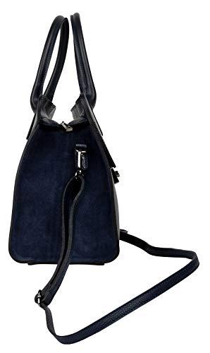 Para Hombro Sehan Shirin Mujer Bolso 175149 Marino Al Medium Azul gpwxHOq