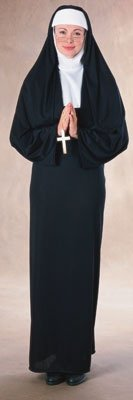 [Rubie's Costume Nun Costume (Adult) Costume] (Nun Habit Halloween Costume)