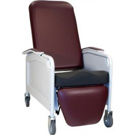 LifeCare Convalescent Recliner with Saddle Seat / no tray 586S by Winco