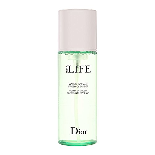 Christian Dior Hydra Life Lotion To Foam Fresh Cleanser for Women, 6.3 Ounce