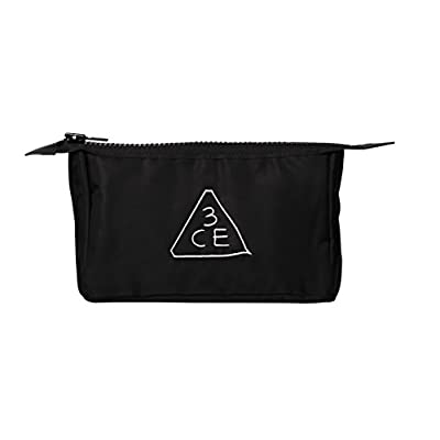 3CE 3 Concept Eyes Stylenanda Small Size Black Makeup Pouch