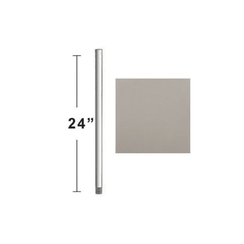 Stainless Steel Downrods - Concord Fans DR-24-ST Accessory - 24