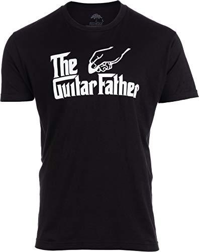 - The Guitar Father | Funny Music Player Musician Pick Humor Men Women Joke T-Shirt-(Adult,2XL) Black