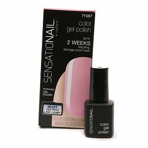 Sensationail Invincible Gel Polish 71587 Pink Chiffon by Jit