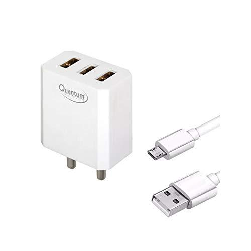 Quantum 3 Ports 2.4AMP QHMPL Mobile USB Charger  QHM2400 3U