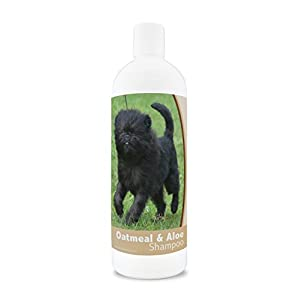 Healthy Breeds Oatmeal & Aloe Dog Shampoo – Over 200 Breeds – Mild & Gentle for Sensitive Skin – Hypoallergenic & pH Balanced – 16 oz