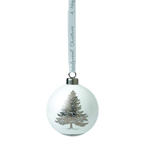 Wedgwood 2018 Annual Holiday Ornament Christmas Tree, 3.1