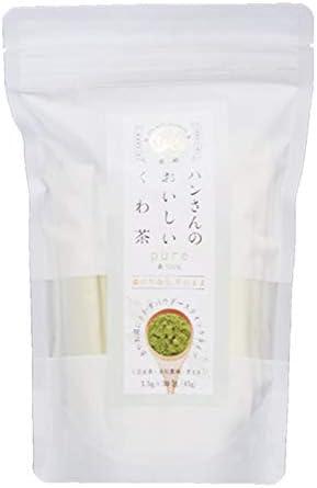 山梨県産桑の葉使用 スティックタイプ 【ハンさんのおいしいくわ茶】 粉末