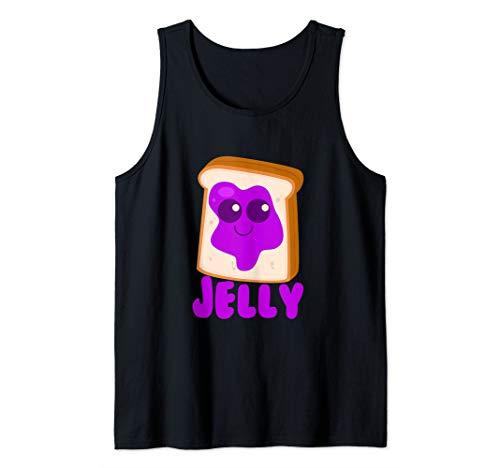 Jelly Matching Halloween Costume Set DIY Peanut Butter Art Tank Top ()