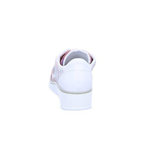 Rieker 92 Combi White Trainers 537P4 rIgxqtw8r