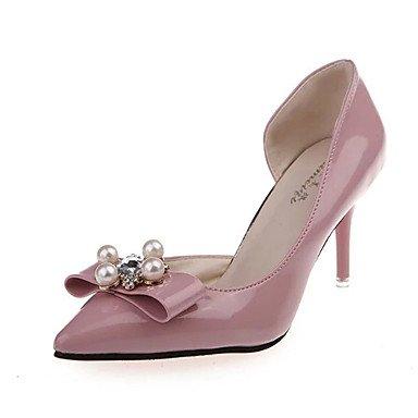 Le donne eleganti sandali Sexy Donna Stivali Autunno Inverno Comfort PU Abito casual Chunky Heel Zipper Lace-up marrone nero Borgogna , beige , us8 / EU39 / UK6 / CN39