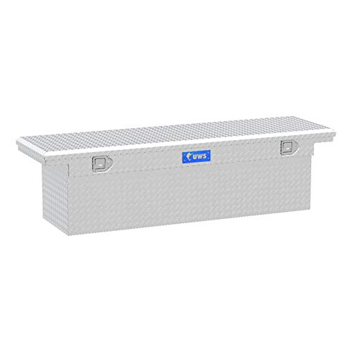 UWS TBSD-69-LP Single Lid Low Profile Deep Aluminum Toolbox with Beveled Insulated Lid (Titan Toolbox)