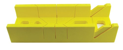 GreatNeck 58233 12 Inch Plastic Miter Box